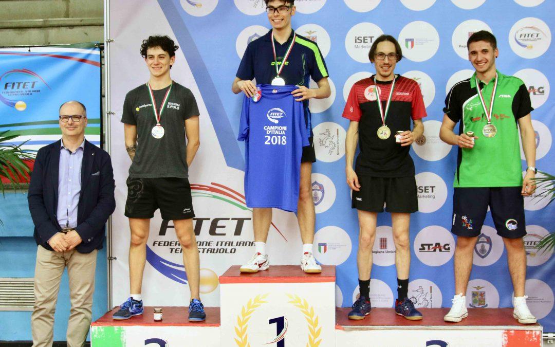 Leonardo Milza Argento ai Campionati Italiani di Terza Categoria