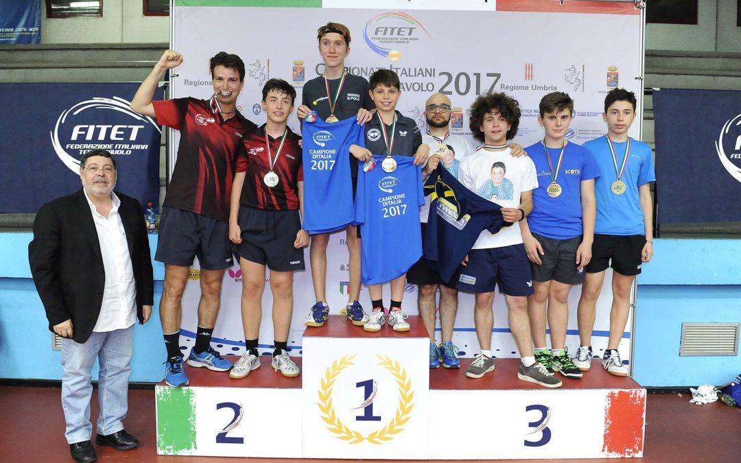 Medaglie ai Campionati Italiani 5 e 4 Ctg