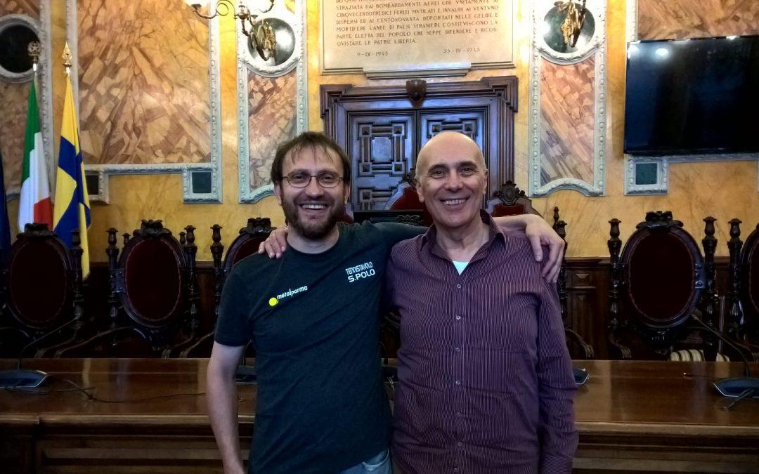 Ferdinando Rossi premiato nell'Aula Consigliare